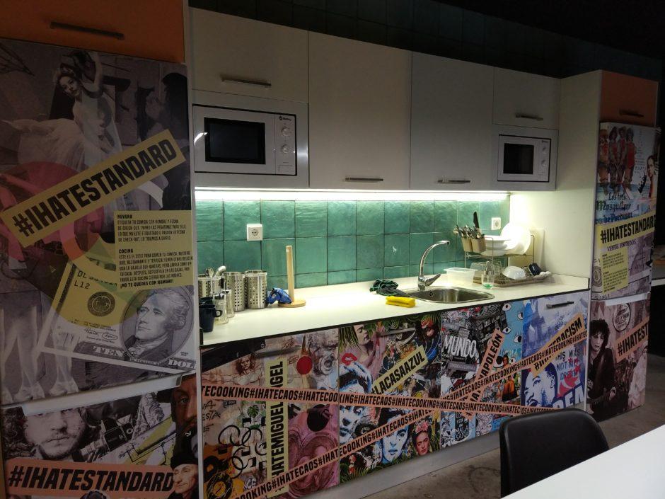 cocina bastardo hostel Madrid