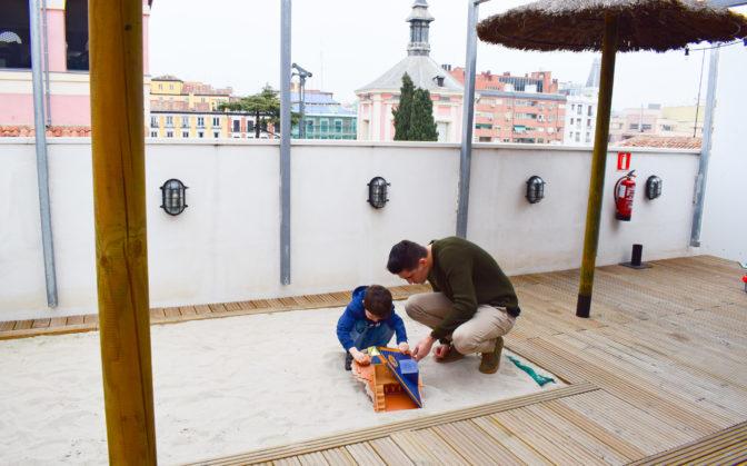 hotel con terraza madrid