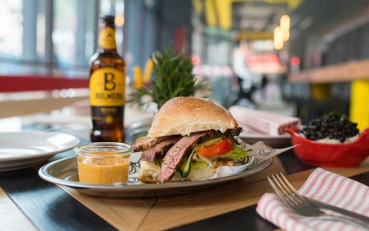 Plato asador Limbo | Dish hamburger Limbo Grill