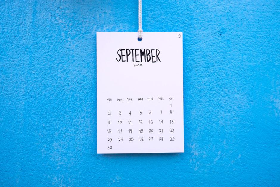 Planes septiembre