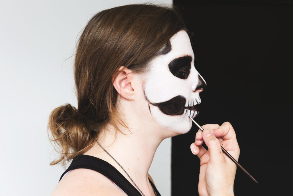 maquillaje Halloween madrid