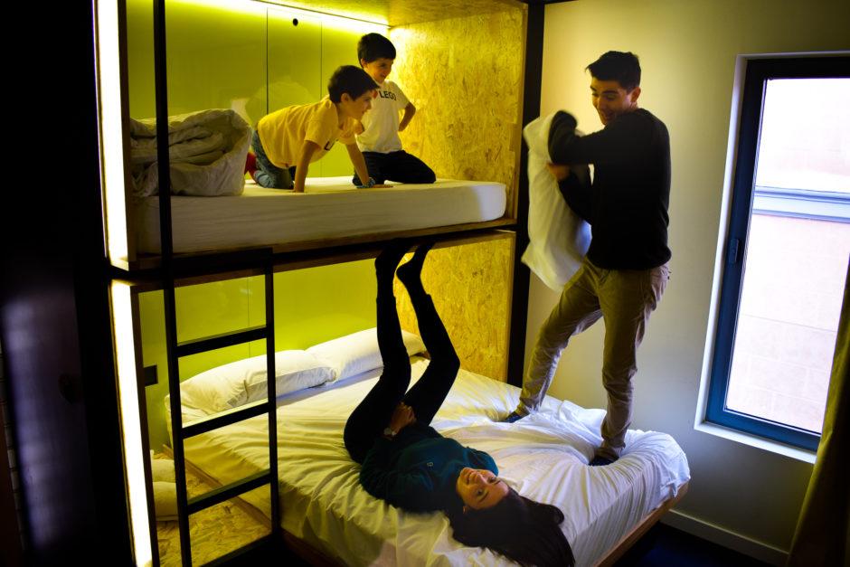 hotel para niños madrid