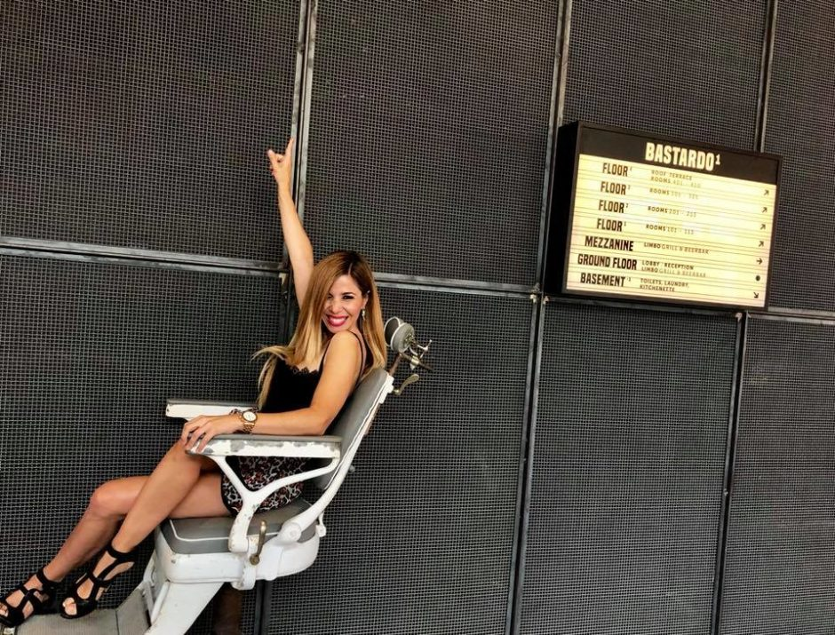 Natalia silla icónica Bastardo