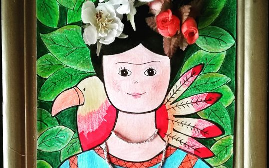 Taller infantil Frida Kahlo