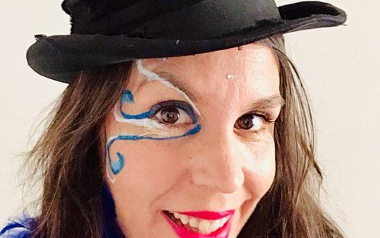 Ada maquillaje evento cuentacuentos en Bastardo
