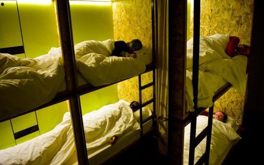 Durmiendo en group|A group sleeping
