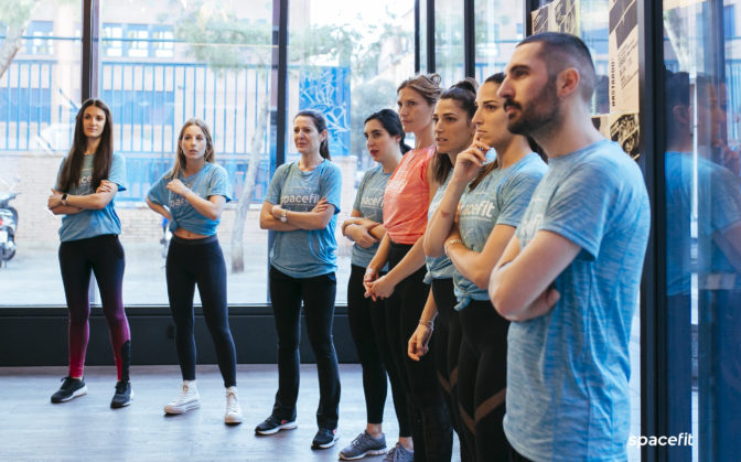 training fitness spacefit madrid