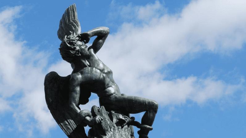 estatua lucifer