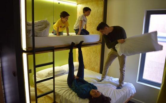 hoteles madrid para niños