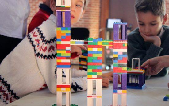 chiquitectos taller arquitectura niños madrid