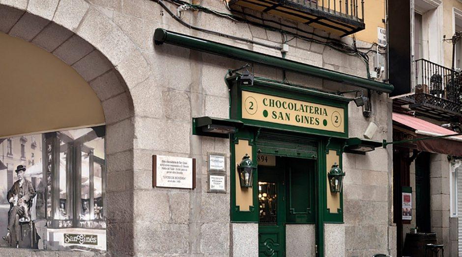 Chocolatería San Gines Madrid
