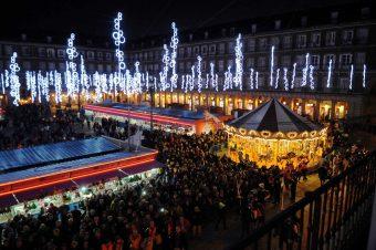 Plaza Mayor Madrid Navidad