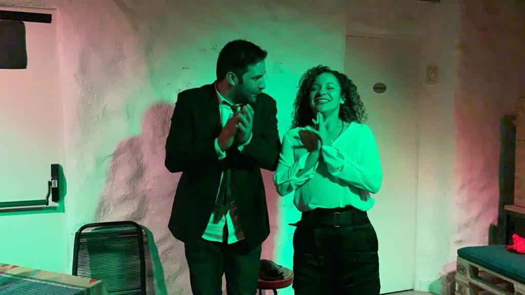 Microteatro el amor se pega sesiones gratis en Bastardo Centro Madrid