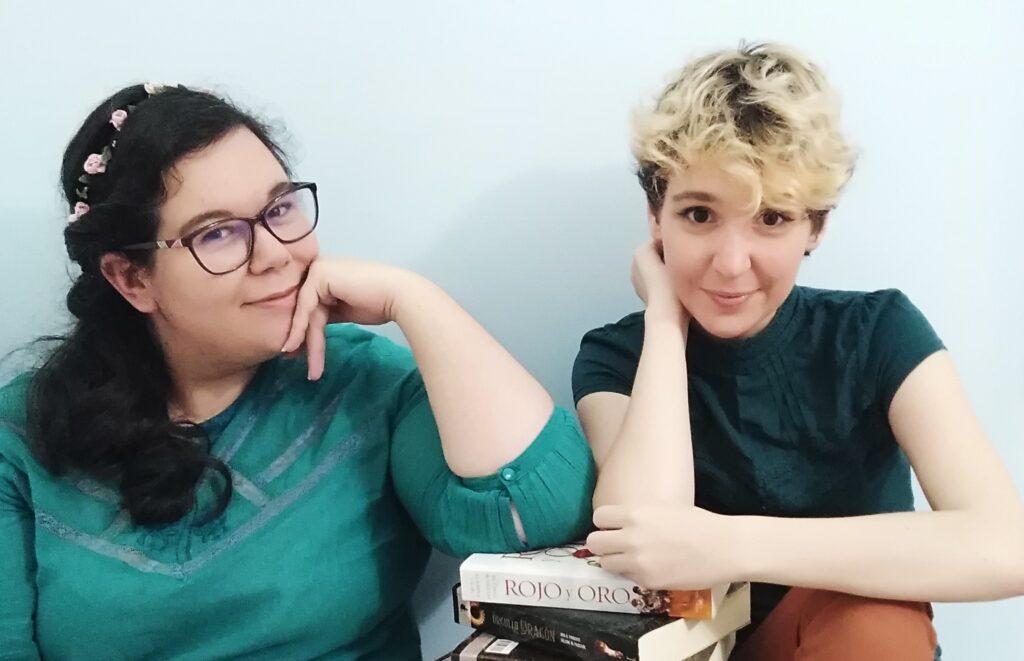 Iria y Selene Anne sin flitros Bastardo